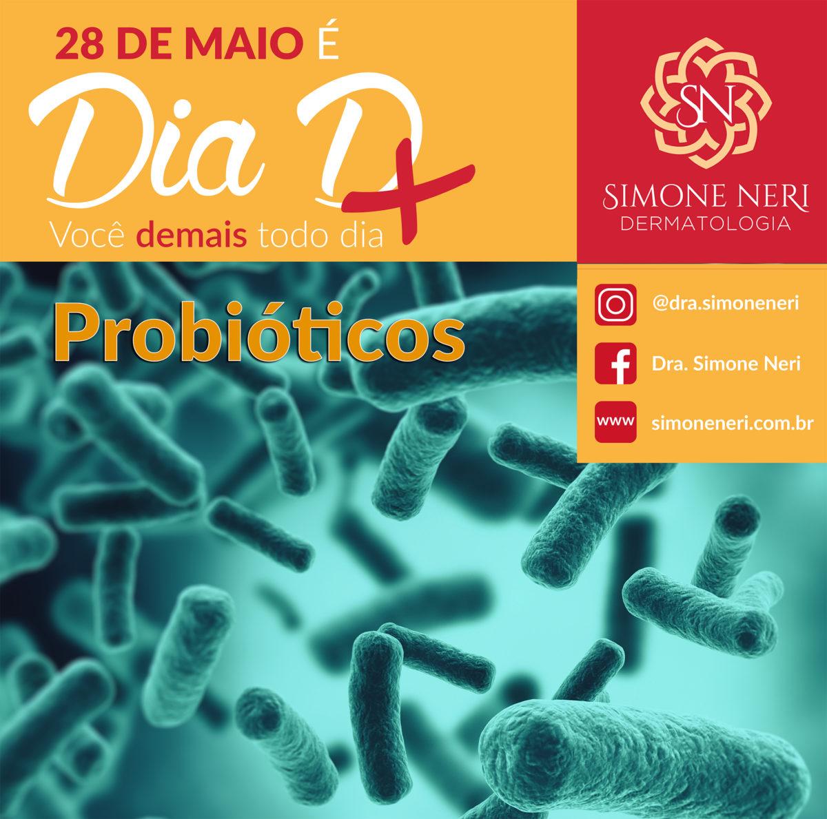 Vamos falar sobre probióticos?