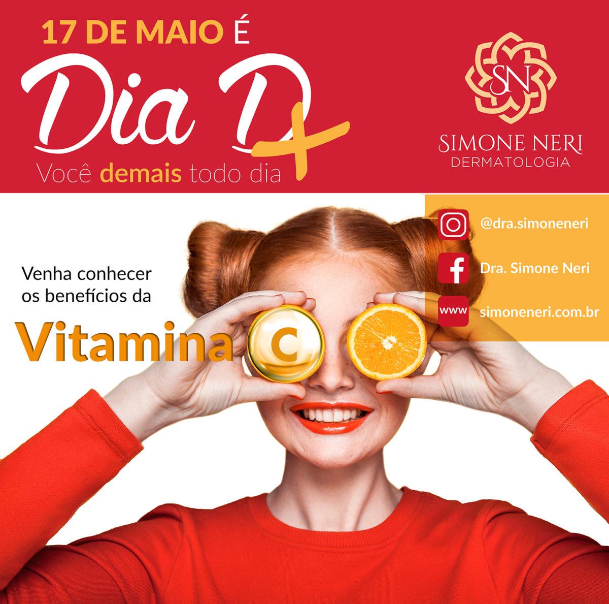 Vitamina C: perfeita para a pele!
