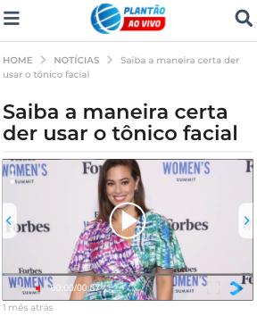 Saiba a maneira certa der usar o tônico facial