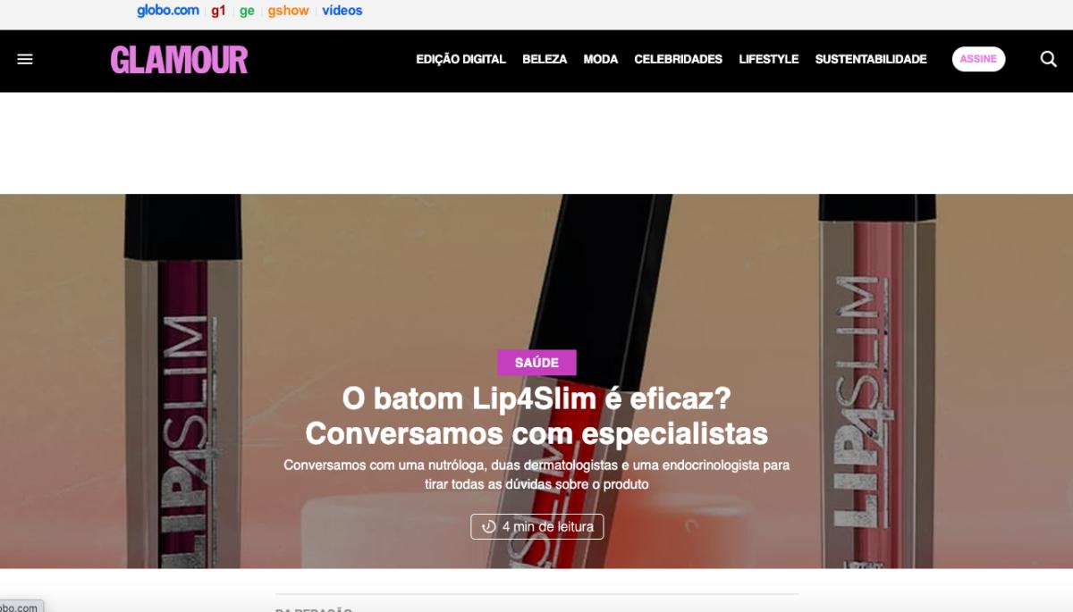 O batom Lip4Slim é eficaz? Conversamos com especialistas